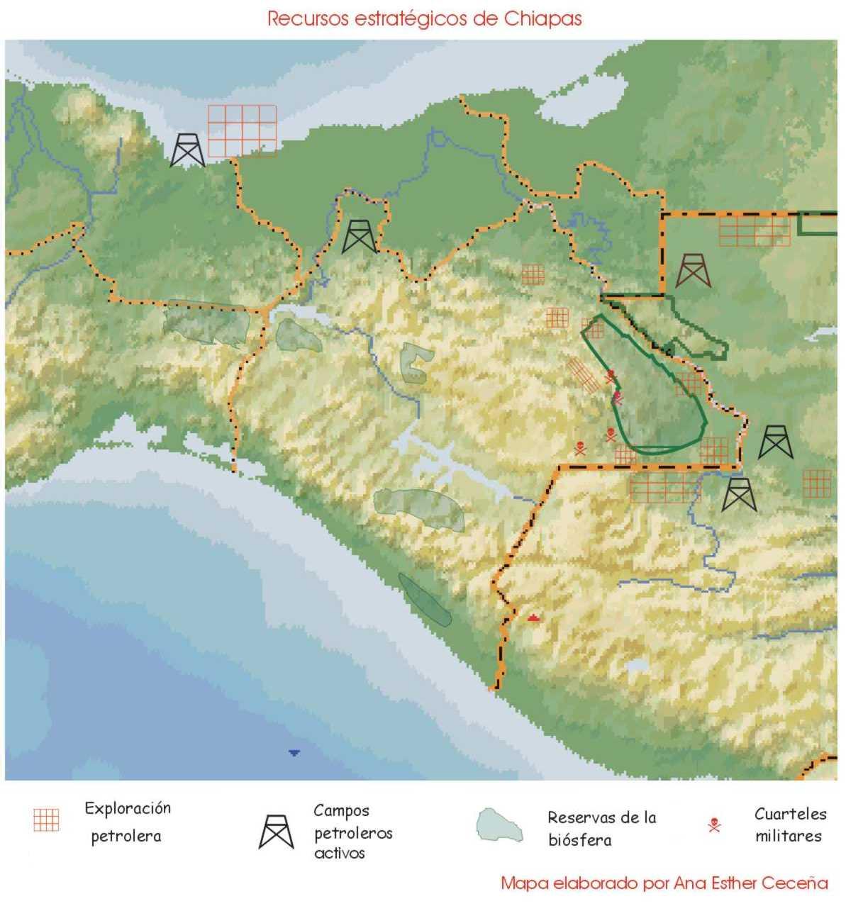 Mapa De Recursos Estrat 233 Gicos Elaborado Por Ana Esther Cece 241 A